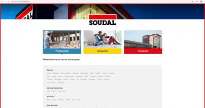Soudal launches new website